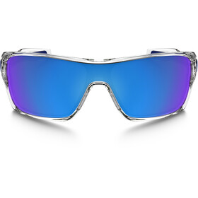 Oakley Turbine Rotor Gafas de sol, polished clear/sapphire iridium